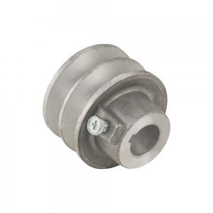 Polea motor aluminio  Universal 62mm 19,05mm int.