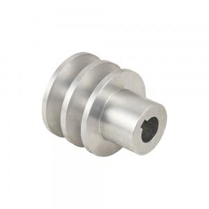 Polea motor aluminio Universal  55mm