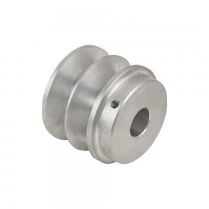 Polea motor aluminio  Universal 70mm 20mm int.