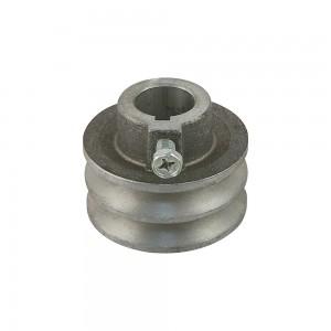 Polea motor aluminio Universal   63mm