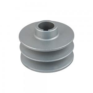 POLEA HIERRO 88mm,25mm cilíndrica, 2x17mm