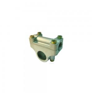 Soporte manillar desbrozadora 26 mm tubo+19mm manillar Universal
