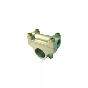Soporte manillar desbrozadora 28 mm tubo+19mm manillar Universal
