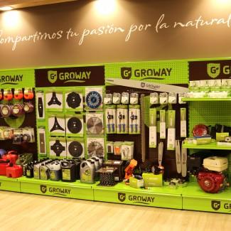 Groway presenta en Fima su nuevo modelo de tienda integral.